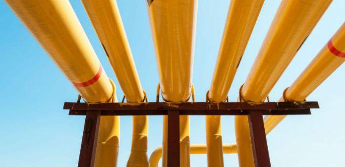 Надземная прокладка трубопроводов