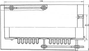Kompensator dvukhsektsionnyy po TU 3-120-81