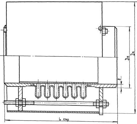 Kompensator odnosektsionnyy po TU 3-120-81